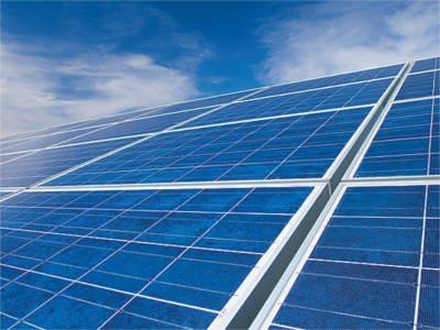 Solar panels at Rutgers