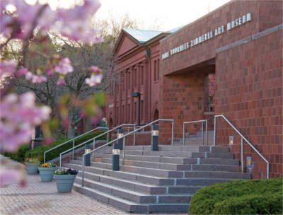 Zimmereli Museum's exterior