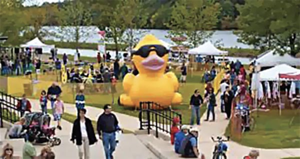 Giant Inflatable Duck